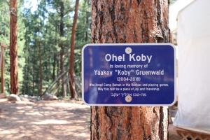 New sign Ohel Koby